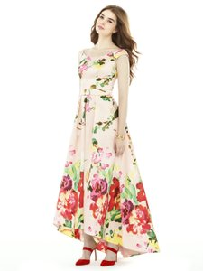 Alfred Sung Blush Bouquet D722fp Dress