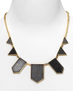 House of Harlow 1960 House of Harlow 1960 Leather Station Necklace