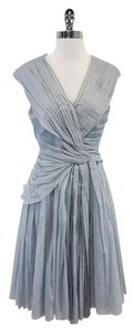 Prada short dress Pastel Blue Sleeveless on Tradesy