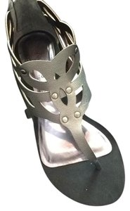 Julianne Hough for Sole Society Pewter Sandals
