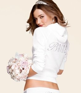 Nwt Victoria's Secret Sexy Little Things Bling Bridal Hoodie