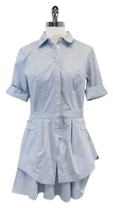 Derek Lam short dress Light Blue Structured Shirt on Tradesy