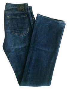 Urban Outfitters Glory Boots Straight Leg Jeans-Medium Wash