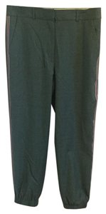 J.Crew Relaxed Pants Teal/dark grey