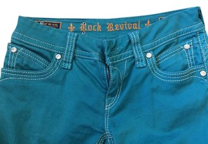 Rock Revival Skinny Jeans-Coated