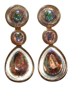 J.Crew J.CREW TEARDROP CRYSTAL EARRINGS F2765