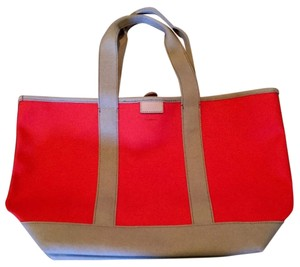 J.Crew Canvas Casual Tote in Cerise Dune