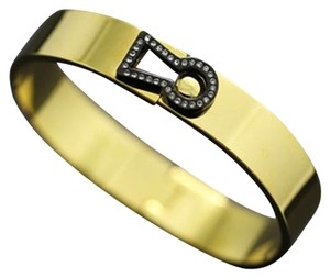 Other Keyhole Bangle 18k Gold Plated