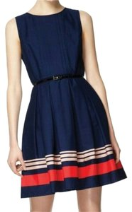 Jason Wu for Target short dress Navy, red, pink on Tradesy