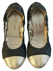 Matt Bernson Black & gold Flats