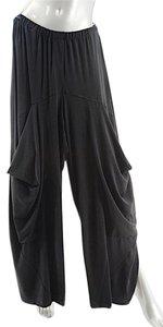 Alembika Rayon Blend Relaxed Pants Black