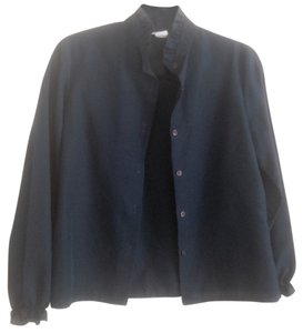 David Straus Button Down Shirt Blue