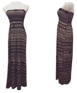 Tribal Print Maxi Dress by Oboe