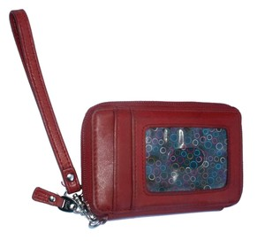 Fossil Convertible Mini Wallet Wristlet with Removable Strap