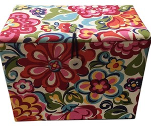 Vera Bradley Storage Box with Button Clasp