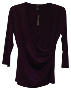 Ann Taylor Top Plum