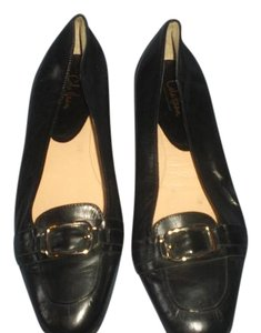 Cole Haan Blue Patent Leather Pointed Toe black Flats