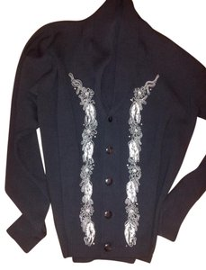 Yohji Yamamoto Vintage Beads Button Down Embroidering Cardigan