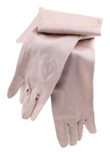 High-rise flare tan/pearl gloves