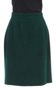 Chanel Skirt Green