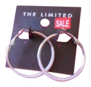 The Limited hoop earrings from The Limited