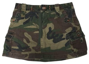 Chor Mini Skirt Camouflage