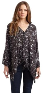 Sweet Pea by Stacy Frati Cape Print Sweater