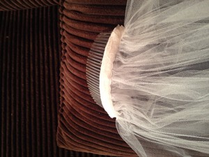 Alfred Angelo 10 Ft Veil With Hair Clip