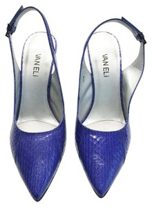 Vaneli Blue Pumps
