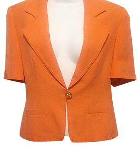 Valentino Orange Blazer
