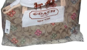 Coach Signature Tote Satchel Shoulder Bag