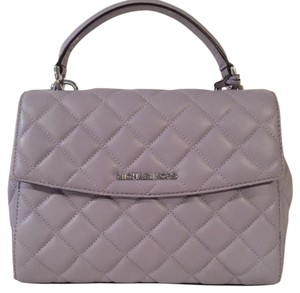 Michael Kors Quilted Satchel in Lilac
