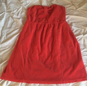 Juicy Couture short dress Cherry red on Tradesy