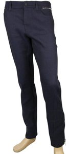 Gucci Skinny Wool Blend Skinny Pants BLUE