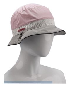 Prada Prada Milano Pink Grey Nylon Bucket Hat Size Medium New In Bag All  Original Tags 9cb35d999d7