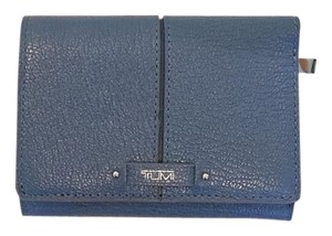 Tumi Tumi Blue Leather Wallet