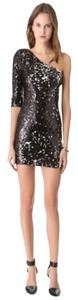 Blaque Label Sequin One Shoulder Dress