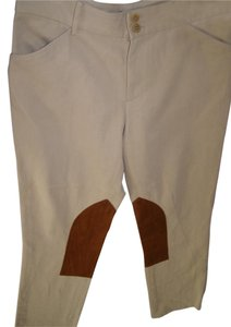 Ralph Lauren Collection Equestrian Straight Pants Tan