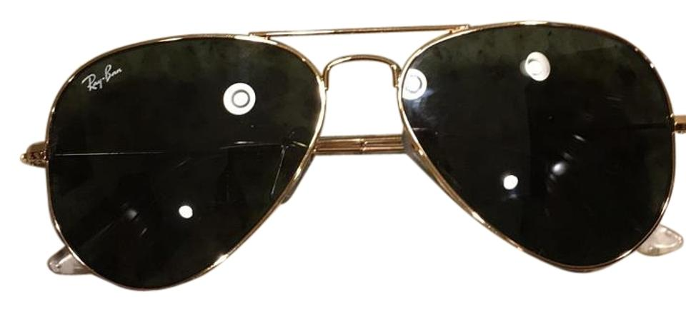 02886c2e60a Ray-Ban Gold with Black Lense Rb 3025. W324 55014 3n Sunglasses ...