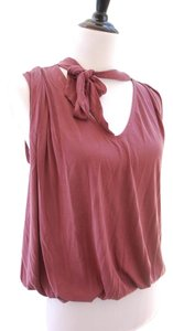 Free People Forget Me Knot Tie Front Top Shiraz