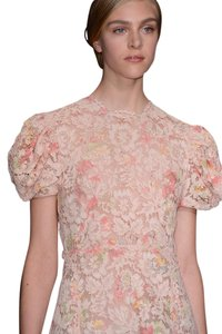 Valentino Lace Coral Floral Dress