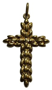 Tiffany & Co. Tiffany&Co Vintage 18k Yellow Gold Cross Pendant