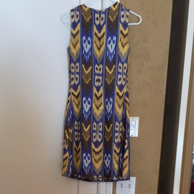 Tory Burch short dress Blue/brown on Tradesy