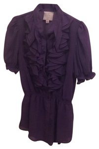 Romeo & Juliet Couture Top Purple