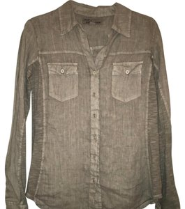 Vintage Havana Button Down Shirt Gray