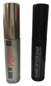 Benefit Benefit tinted lash primer and MUFE mascara