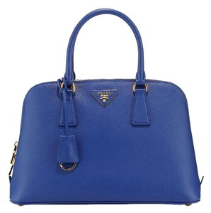 Prada Satchel in Royal