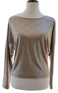 Gianni Bini Top Silver Metallic