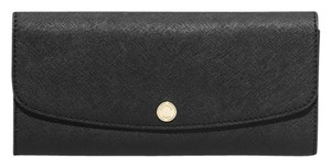 Michael Kors Michael Kors Juliana Large 3-in-1 Saffiano Leather Wallet -Black/White
