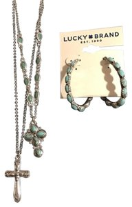 Lucky Brand Necklace & Earrings